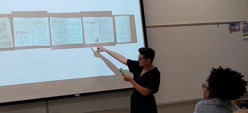 Lisa-Jacobs-teaching-the-Make-a-Chapbook-workshop