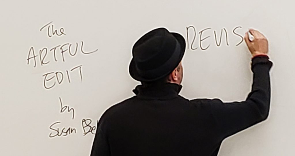 Mark Sarvas teaching the 2017 Fiction workshop