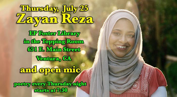Zayan Reza at EP Foster Library